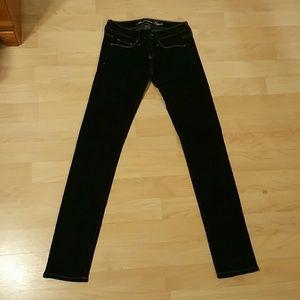 American Eagle Dark Blue Stretch Skinny Jeans